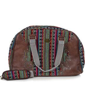 Trenditions Women's Brown Catchfly Daphne Overnight Bag , Brown, hi-res