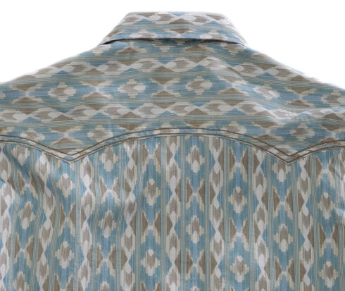 Tin Haul Men's Arrow Aztec Print Snap Western Shirt, Blue Multi, hi-res