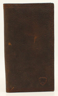 Ariat Basic Distressed Rodeo Wallet, Distressed, hi-res