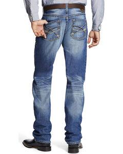 Ariat Men's Indigo M2 Outland Midway Relaxed Jeans - Boot Cut , Indigo, hi-res