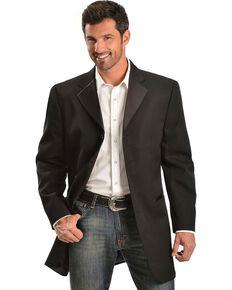 b62948ae7710 Circle S Mens Tuxedo Sport Coat - Big , Black, hi-res