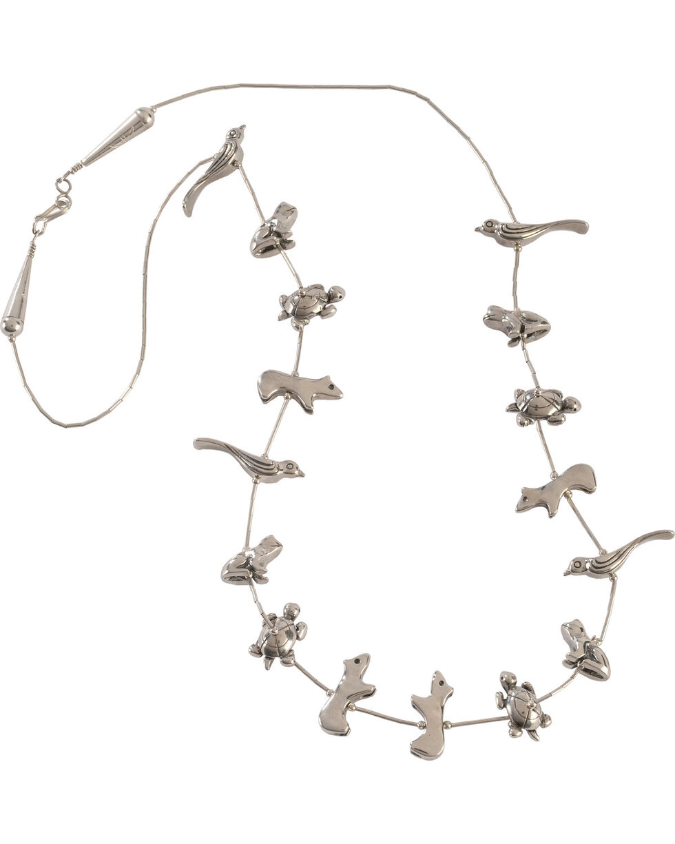 Silver Legends Women's Sterling Silver Large Animal Necklace, Silver, hi-res
