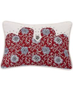HiEnd Accents Bandera Oblong Concho Accent Pillow, Multi, hi-res