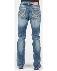 Stetson Men's Rocks Fit Bootcut Jeans , Blue, hi-res