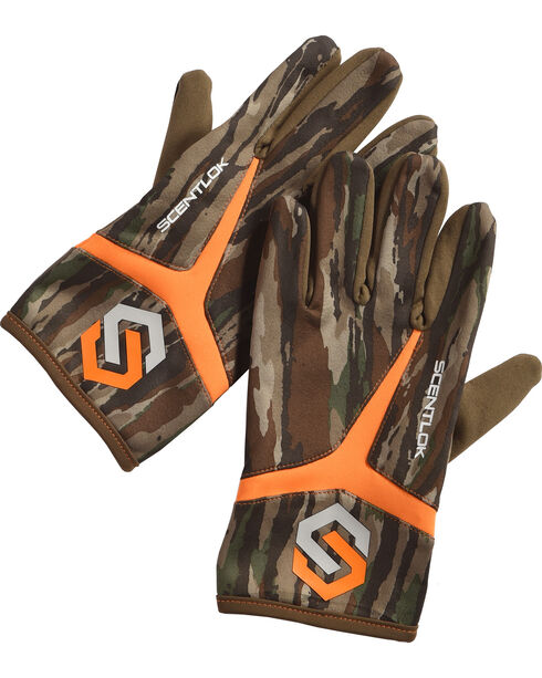 Scentlok Technologies Men's Camo Full Season Release Gloves , Camouflage, hi-res
