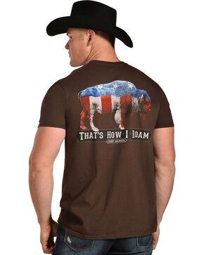 Cody James Men's That How I Roam Tee, Brown, hi-res