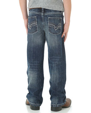 Wrangler Boys' Vintage Boot Cut Jeans, Blue, hi-res