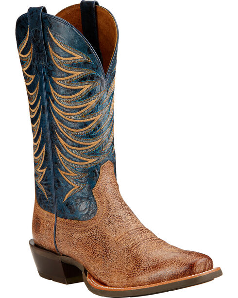 Ariat Crosswire Cowboy Boots - Square Toe , Sand, hi-res
