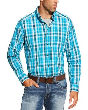 Ariat Men's Multi Long Sleeve Everett Shirt , Multi, hi-res