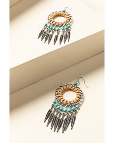 Idyllwind Women's Catching Dreams Fringe Earrings, Tan, hi-res