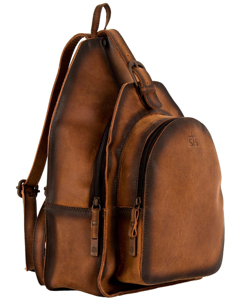 STS Ranchware by Carroll Women's Baroness Backpack, Brown, hi-res