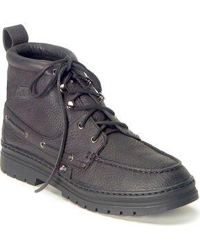 Justin Men's Chip Chukka Boots - Round Toe, Black, hi-res