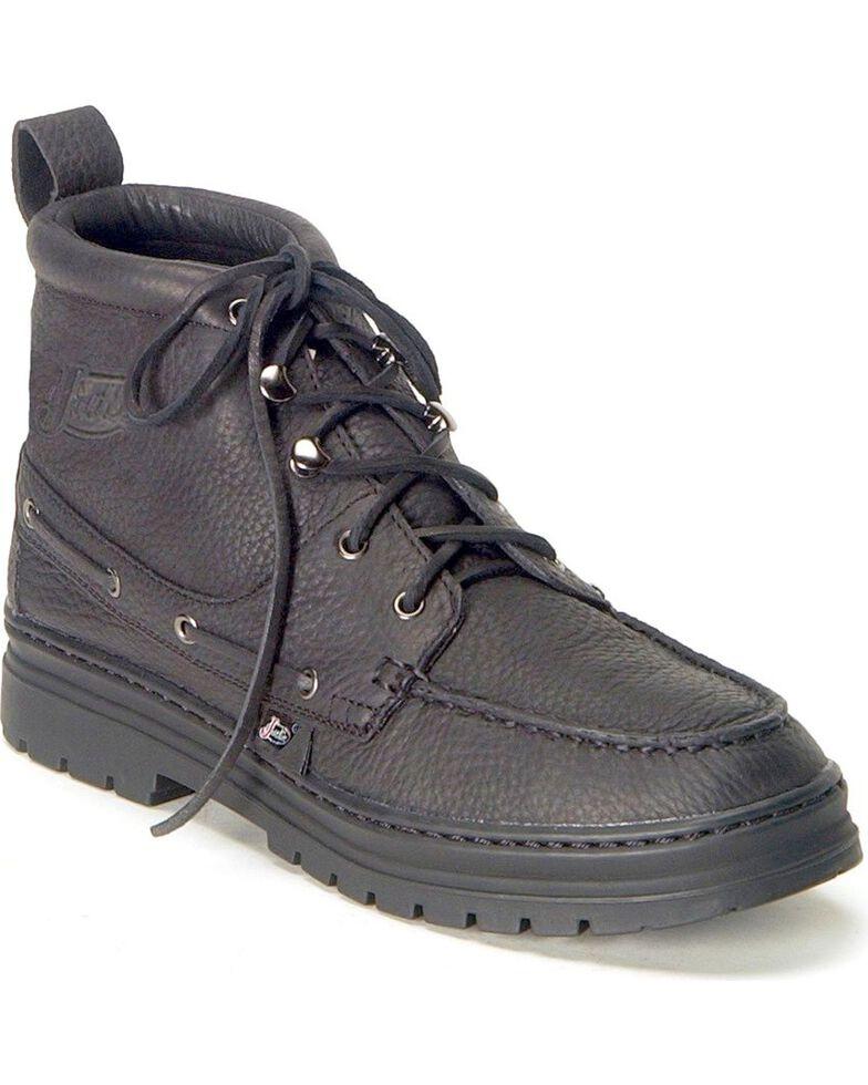 Justin Men's Chip Casual Lace-Up Boots, Black, hi-res