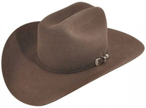 Bailey Men's Pro 5X Wool Felt Cowboy Hat, Brown, hi-res