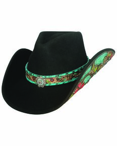 741457a0d346a Bullhide Womens Crazy Beautiful Cowgirl Hat
