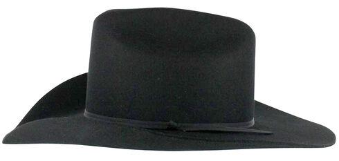 Cody James Men's Denver 2X Felt Cowboy Hat Black, Black, hi-res