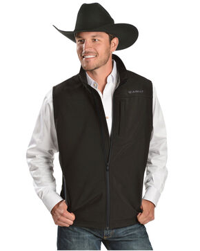 Ariat Vernon Softshell Vest, Black, hi-res