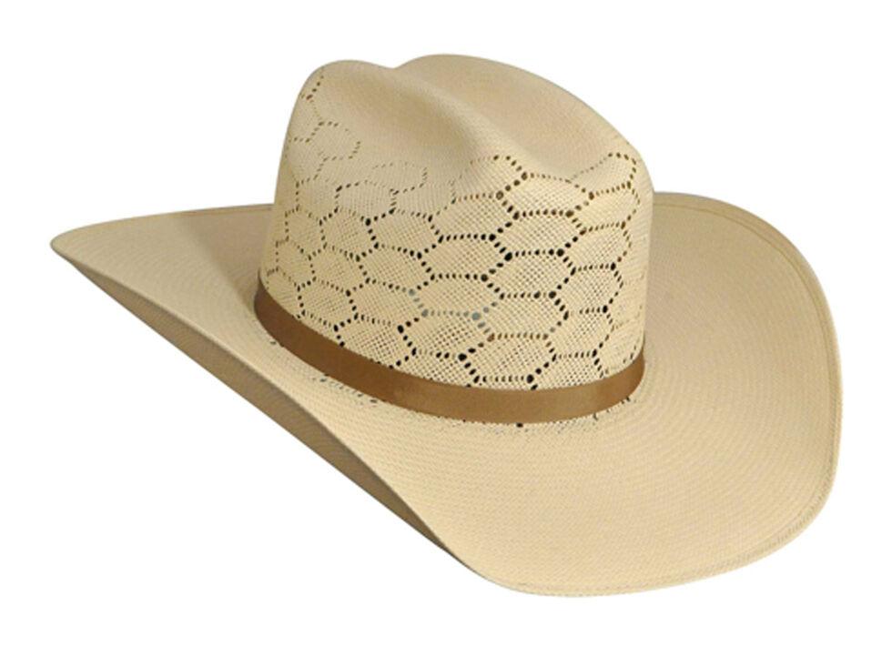 Bailey Enzo 20X Straw Cowboy Hat, Natural, hi-res