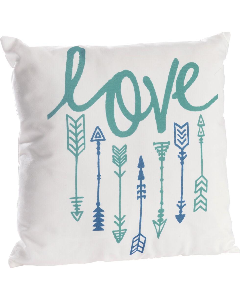 BB Ranch Love and Arrows Pillow, No Color, hi-res