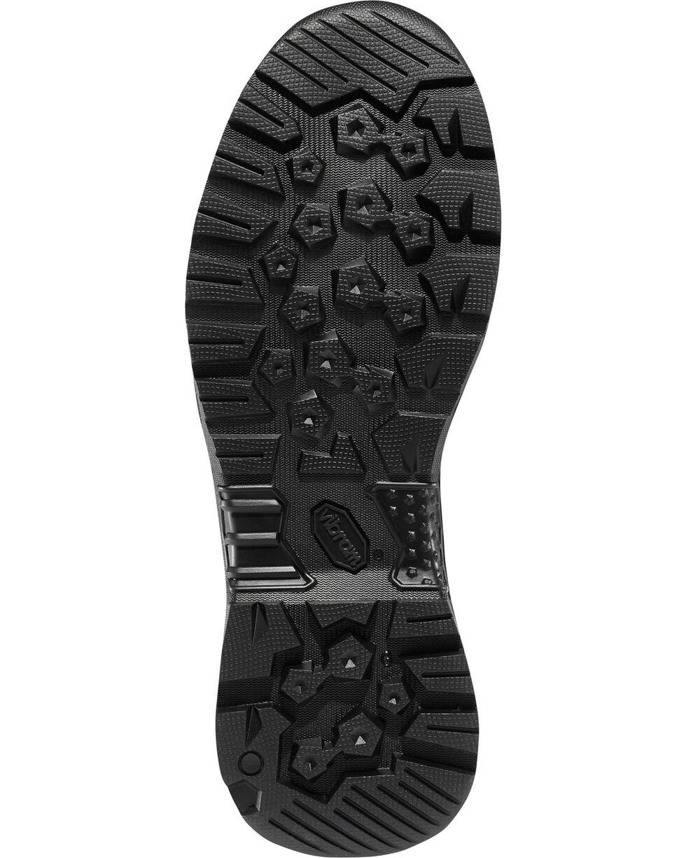 "Danner Men's Black Hot 8"" Reckoning Tactical Boots - Round Toe , Black, hi-res"