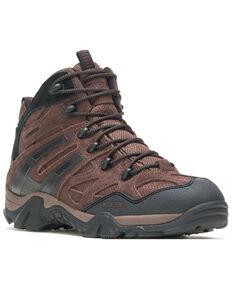 Wolverine Men's Brown Wilderness Hiking Boots - Soft Toe, Brown, hi-res