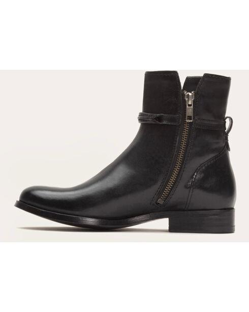 Frye Women's Melissa Seam Short Boots - Round Toe , Black, hi-res
