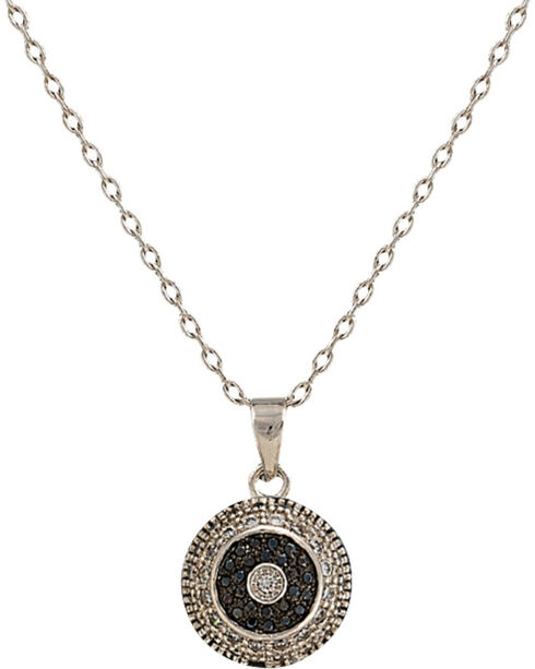 Montana Silversmiths Evening Bull's Eye Necklace, Silver, hi-res