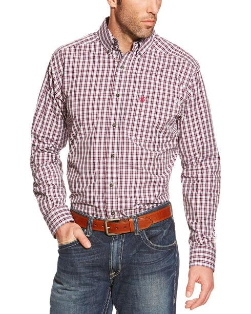 Ariat Pro Series Skylar Plaid Fitted Western Shirt, Multi, hi-res
