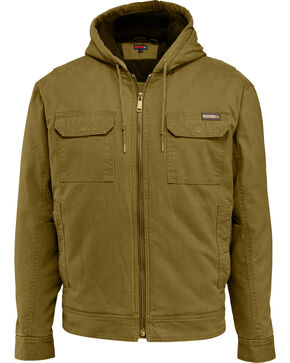 Wolverine Men's Lockhart Jacket, Brown, hi-res