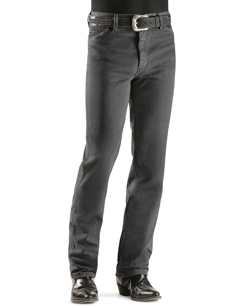 Wrangler Men's 936 Cowboy Cut Slim Fit Jeans - Prewashed Colors, Charcoal Grey, hi-res