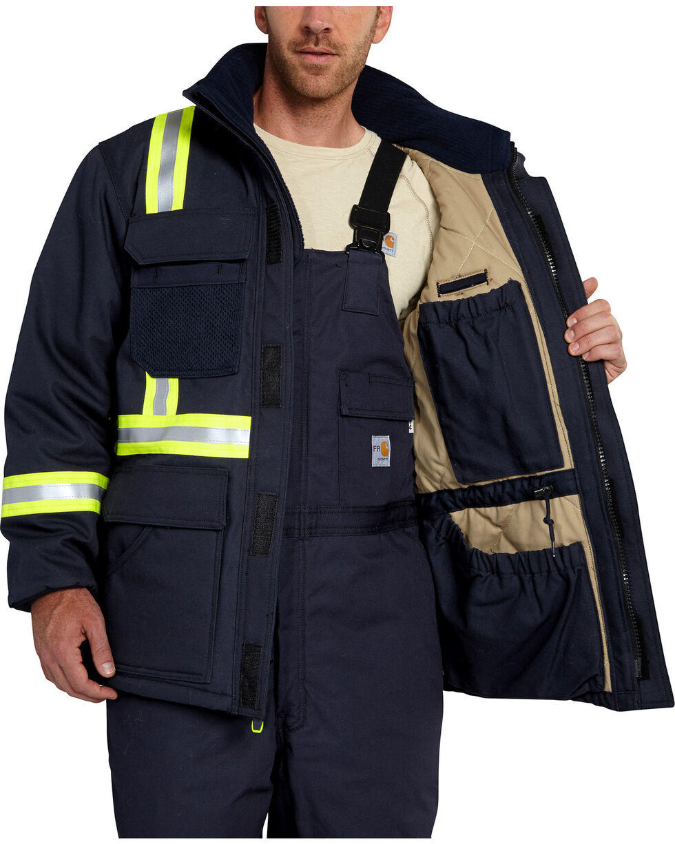 Carhartt Extremes® FR Arctic Coat - Big & Tall, Navy, hi-res