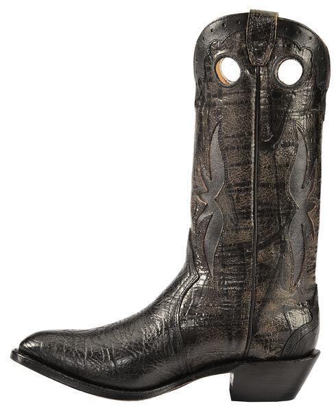 Boulet Black Shoulder Boots - Medium Toe, Black, hi-res