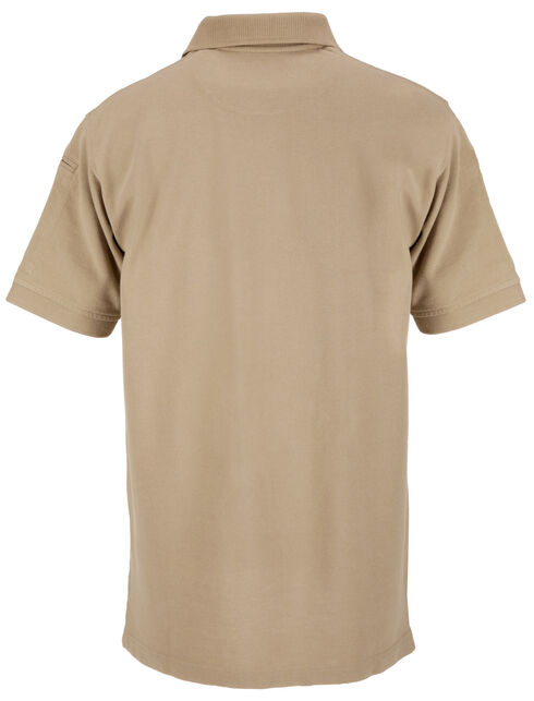 5.11 Tactical Professional Short Sleeve Polo Shirt - Tall Sizes (2XT - 5XT), Tan, hi-res