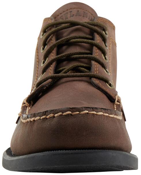 Eastland Men's Bomber Brown Seneca Camp Moc Chukka Boot , Brown, hi-res