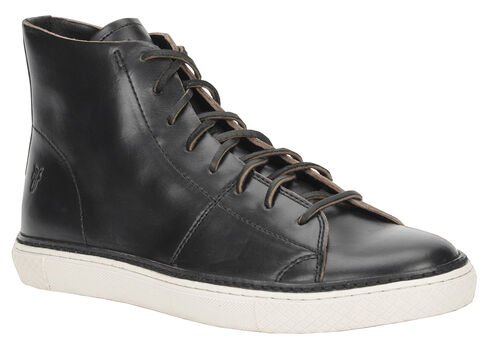 frye shoes black