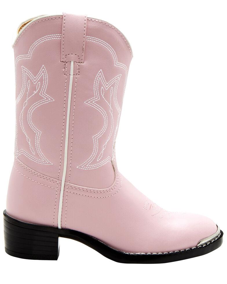 Durango Little Girls' Pink Western Boots - Round Toe, Assorted, hi-res