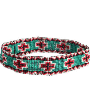 Shyanne Women's Beaded Cross Headband, Multi, hi-res
