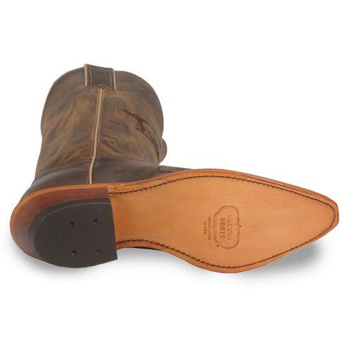 Nocona Arkansas Razorbacks College Boots - Snip Toe, Tan, hi-res
