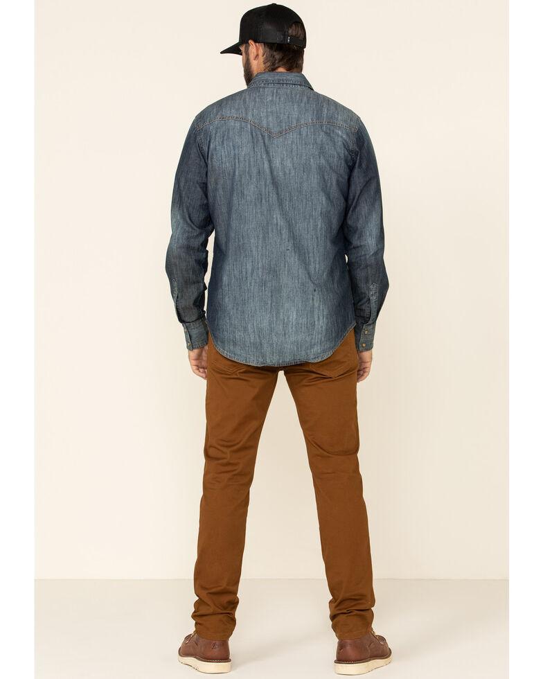 Levi's Men's 502 Rosefinch Regular Stretch Tapered Fit Jeans, Chestnut, hi-res