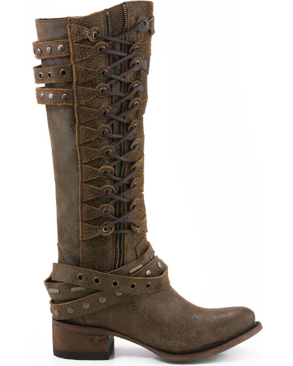 Lane Women's Ghilliegan Tall Boots - Round Toe , , hi-res