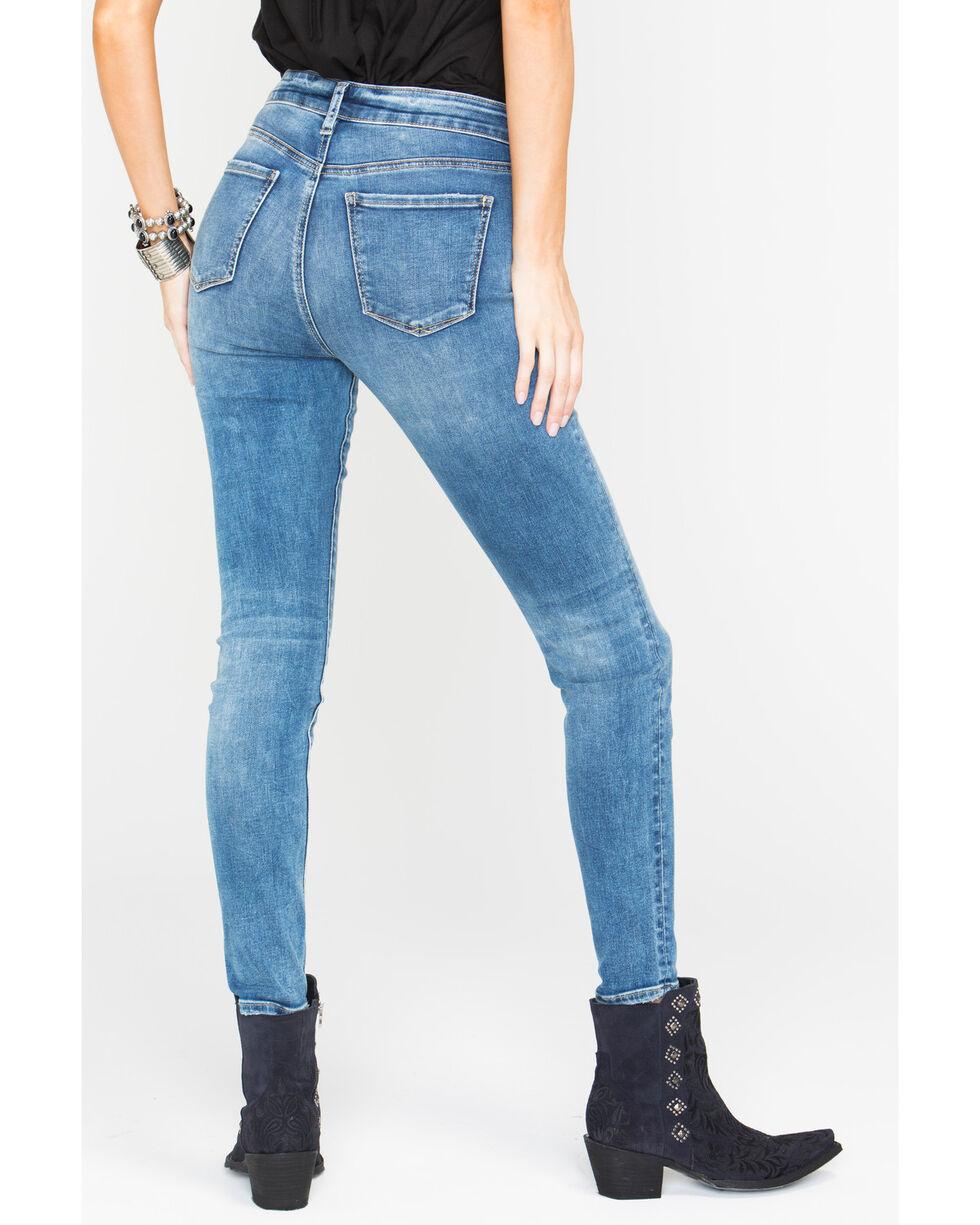 Silver Women's Mazy Dark Wash Super Skinny Jeans , Indigo, hi-res