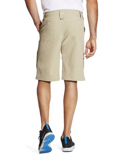 Ariat Men's Khaki Tek Cargo Shorts , Beige/khaki, hi-res
