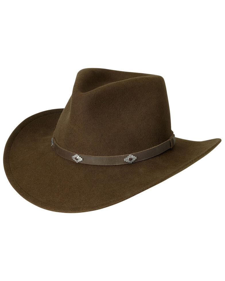 Black Creek Acorn Men's Crushable Wool Hat, Acorn, hi-res