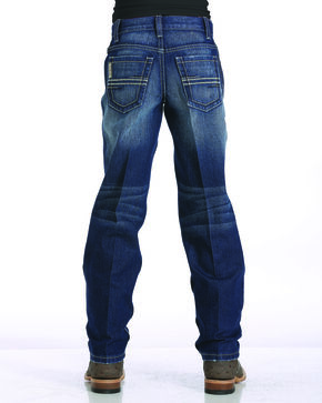 Cinch Boys' Indigo (8-18) Sawyer Slim Fit Jeans - Straight Leg  , Indigo, hi-res