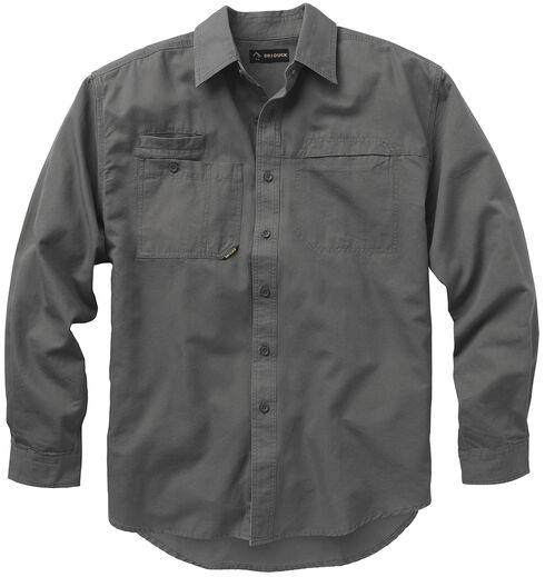 Dri Duck Men's Mason Work Shirt, Grey, hi-res