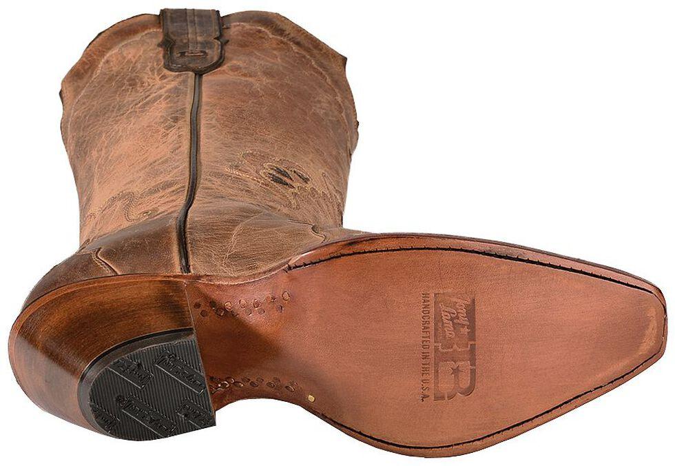 Tony Lama Black Label Tall Cowgirl Boots - Snip Toe, Tan, hi-res