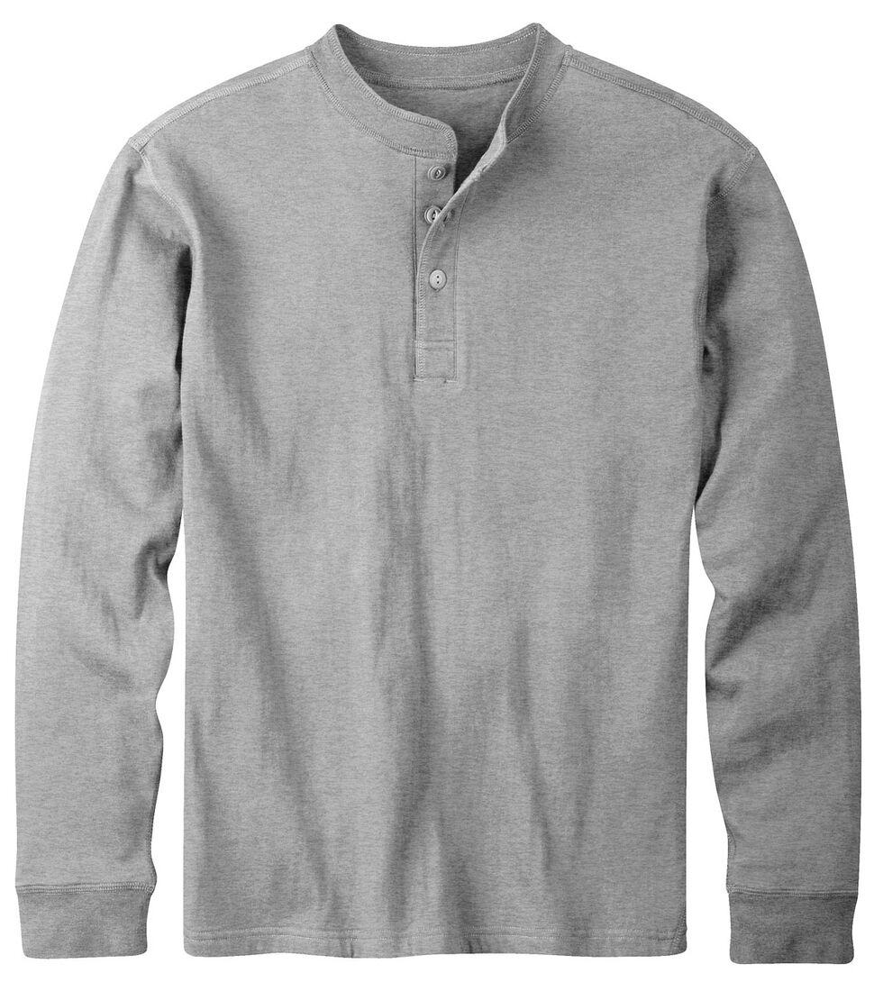 Mountain Khakis Men's Heather Grey Trapper Henley Shirt, Hthr Grey, hi-res