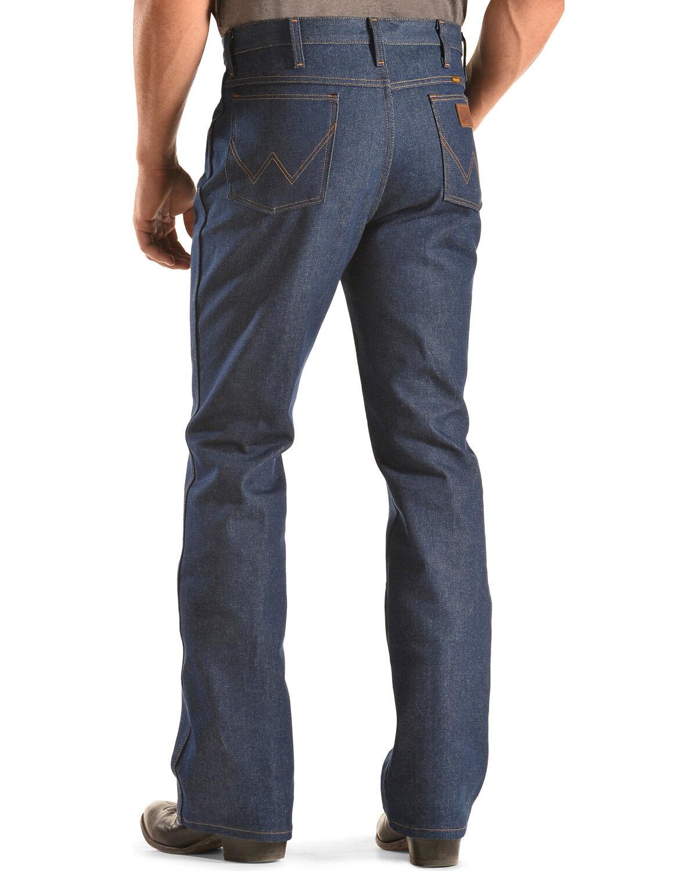 Mens wrangler slim fit bootcut jeans