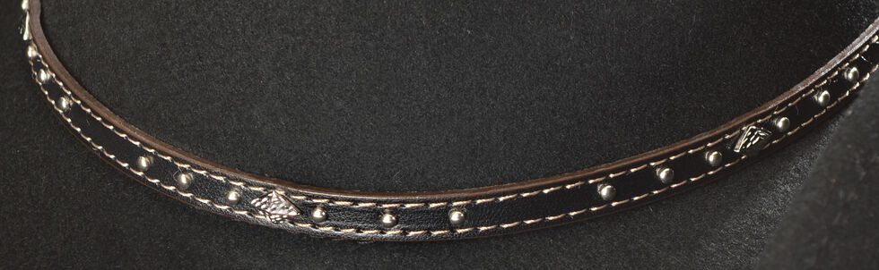 Scala Men's Pinchfront Crushable Hat, Black, hi-res