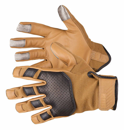 5.11 Tactical Screen Ops Tactical Gloves, Coyote Brown, hi-res